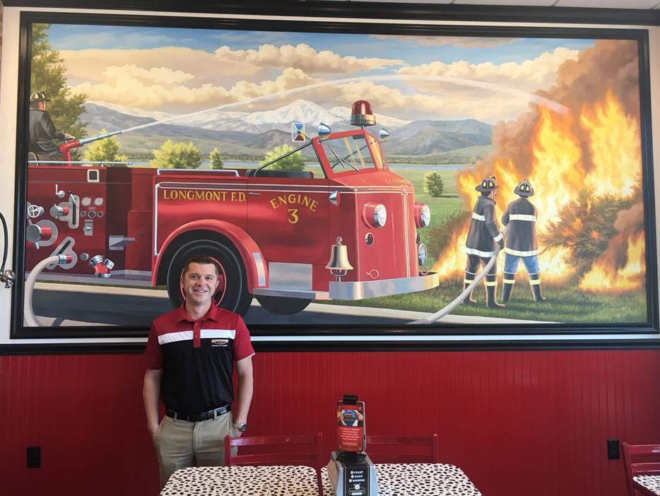Photo of Matthew at Firehouse Subs