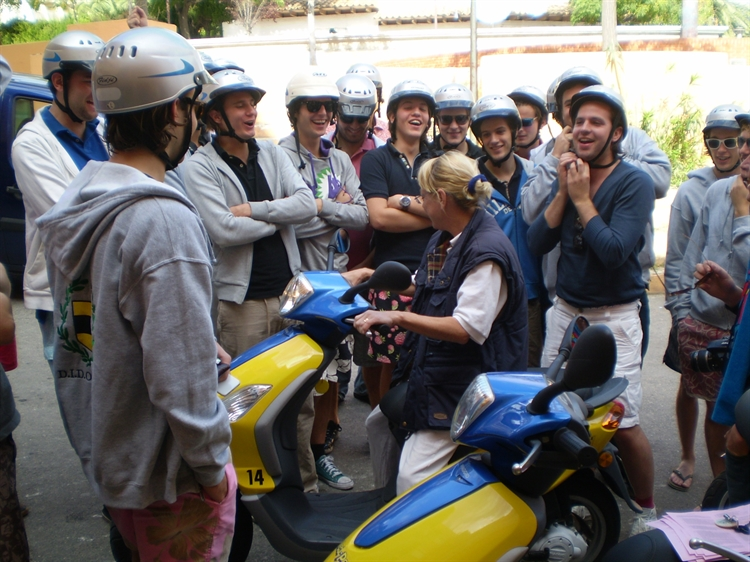well established moped hire - 5