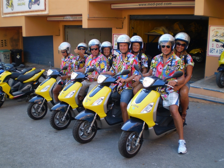 well established moped hire - 6