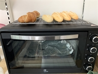 Fresh Bread and Croissants