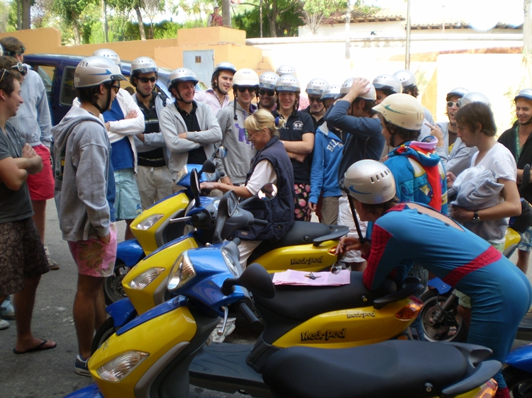 well established moped hire - 4